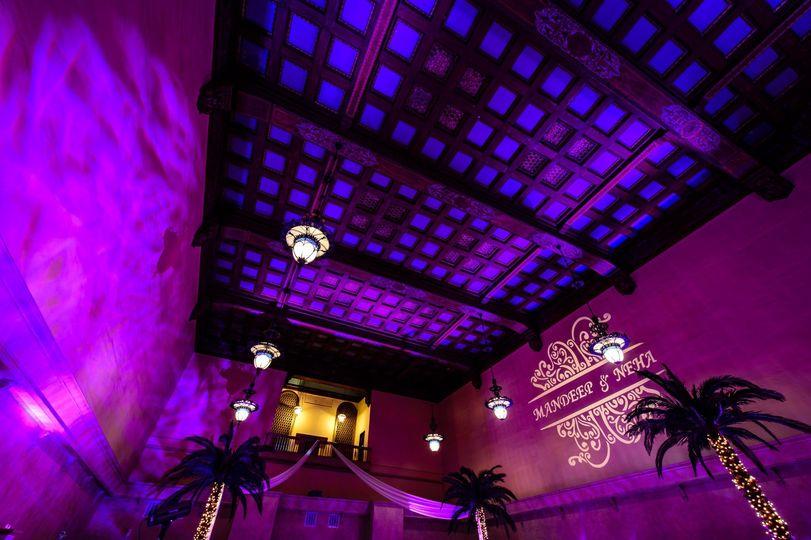 50 ft ceilings
