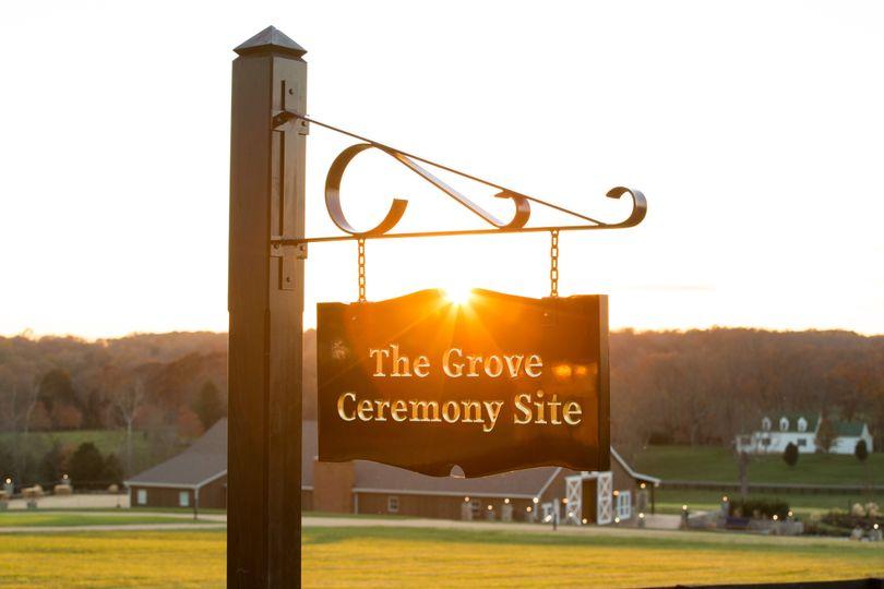 The Grove Ceremony Site
