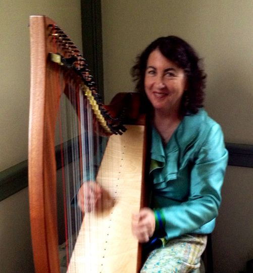 Mary and her harp
