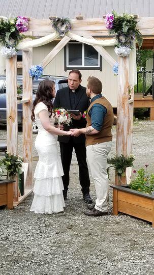 Wedding in Palmer AK