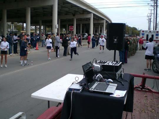 Sound FX Volunteers our services to the US marines Toys for Tots, Toy drive year after year. And we...