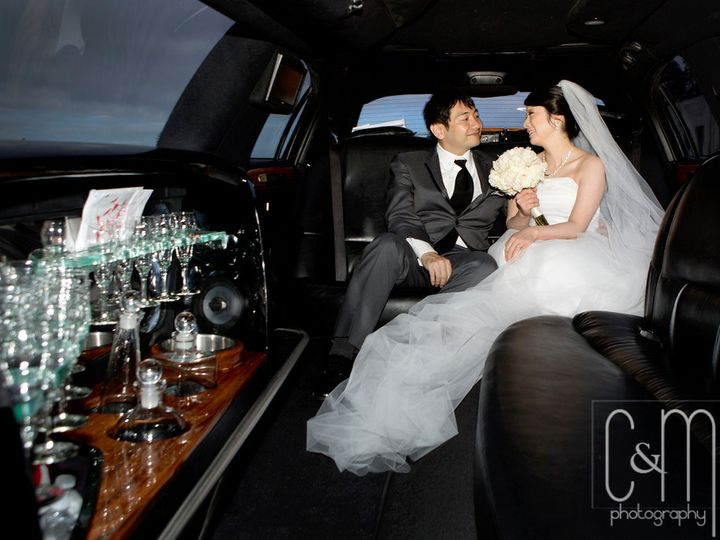 Tmx 1419366448801 Hiromi Wedding Inside Limo Milpitas wedding transportation
