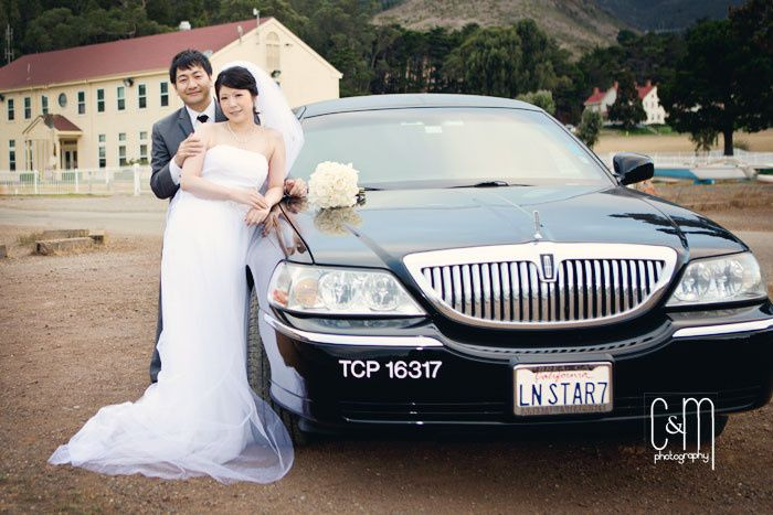 Tmx 1419366705067 Hiromi Wedding Outside Limo Milpitas wedding transportation