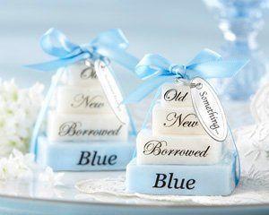 Something Old, Something New, Something Borrowed, Something Blue Wedding Favors