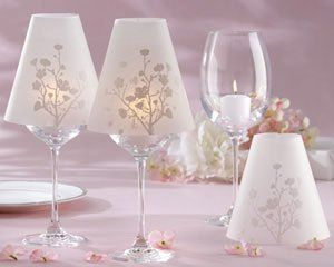 Cherry Blossom Shades for Wedding Favors