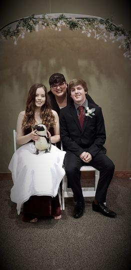 Briara, Liam & Penguin Beth