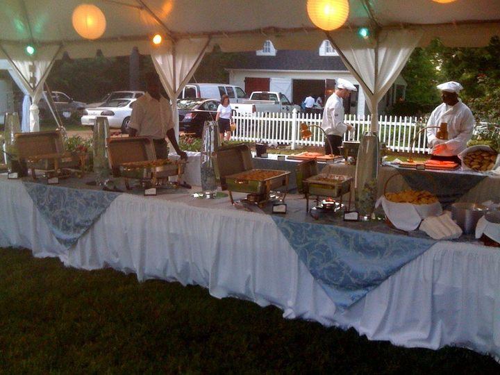 Outdoor Reception Set