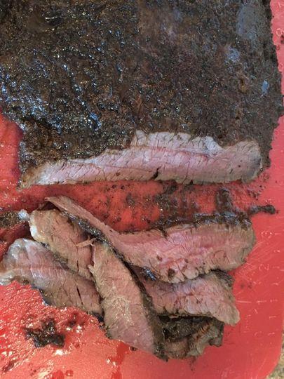 Flank Steak Med Rare
