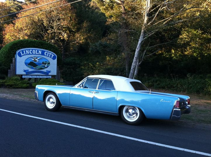 1961 Lincoln Continental Convertible in Lincoln City