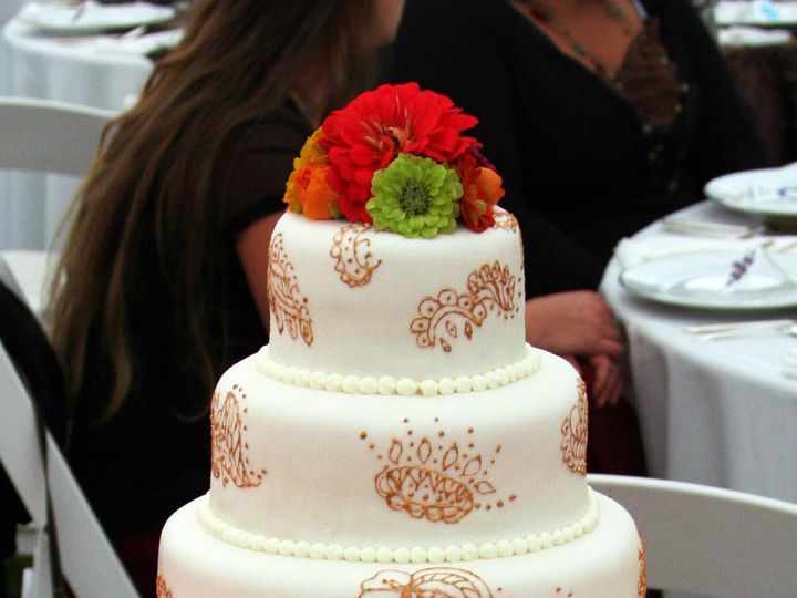 Tmx 1501101107026 Kalos Wedding Cake 01 Falmouth wedding cake