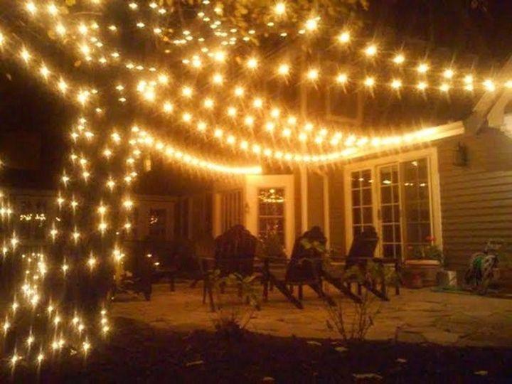 Lighting up the yard