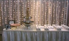 Tmx 1455026286845 Head Table Drapery With Lights La Grange, IL wedding eventproduction