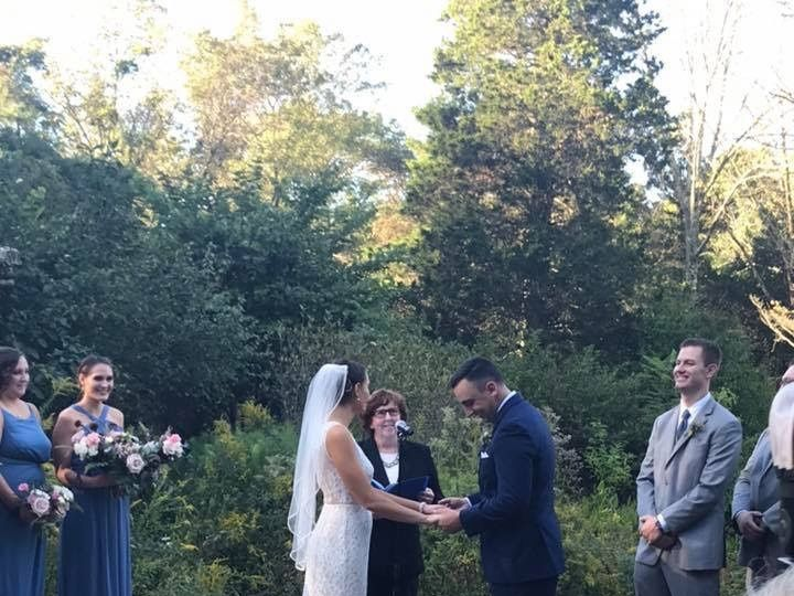Tmx Holly And Justin Ceremony 1 51 924398 V1 Lawrence Township, NJ wedding officiant