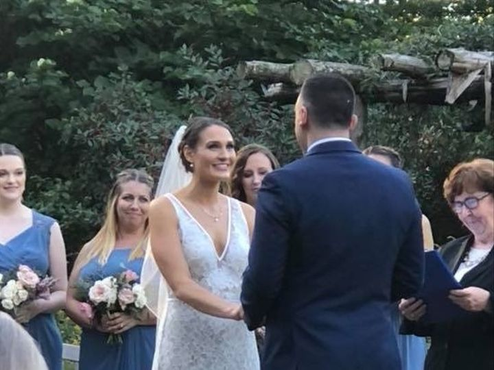 Tmx Holly And Justin Ceremony 2 51 924398 V1 Lawrence Township, NJ wedding officiant