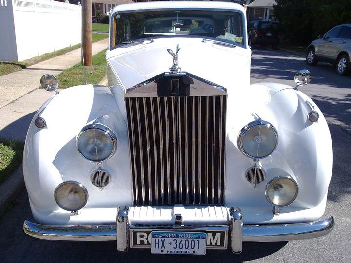Front vintage car