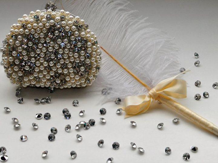 Tmx 1347230860477 RhinestoneWhiteBagWPen Brooklyn wedding favor