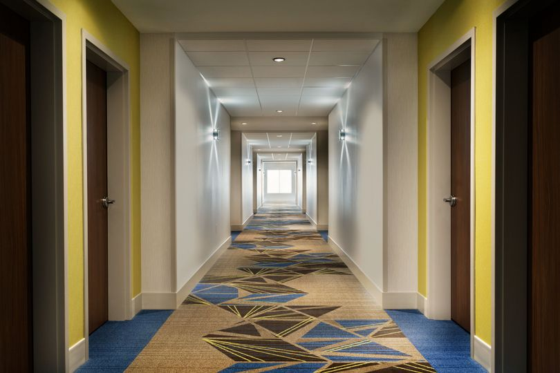 Our event center is just steps away from your room!