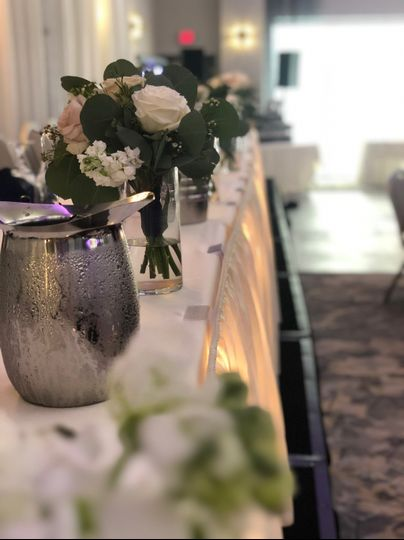 Head Table Bouquets