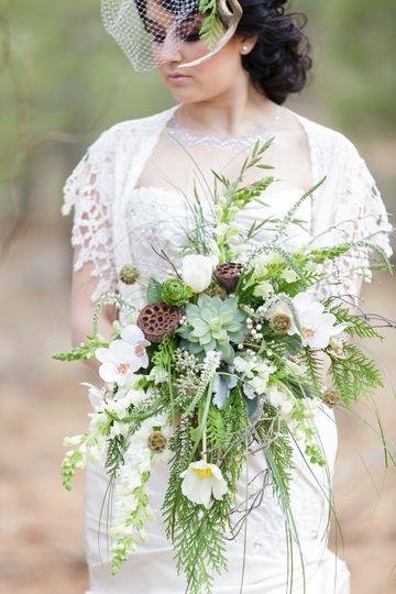 royal woodland winter wedding styled shoot 083