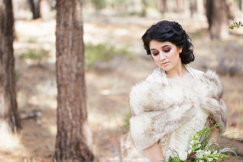royal woodland winter wedding styled shoot 091