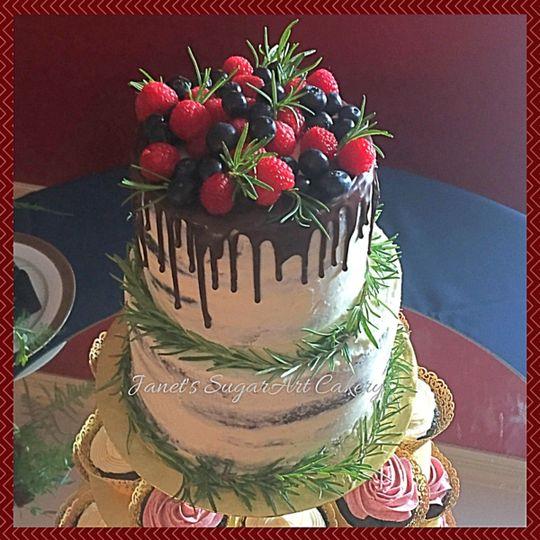 Janets Sugar Art Cakery Wedding Cake Chesterfield Va Weddingwire