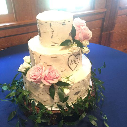 Janet\'s Sugar Art Cakery - Wedding Cake - Chesterfield, VA - WeddingWire