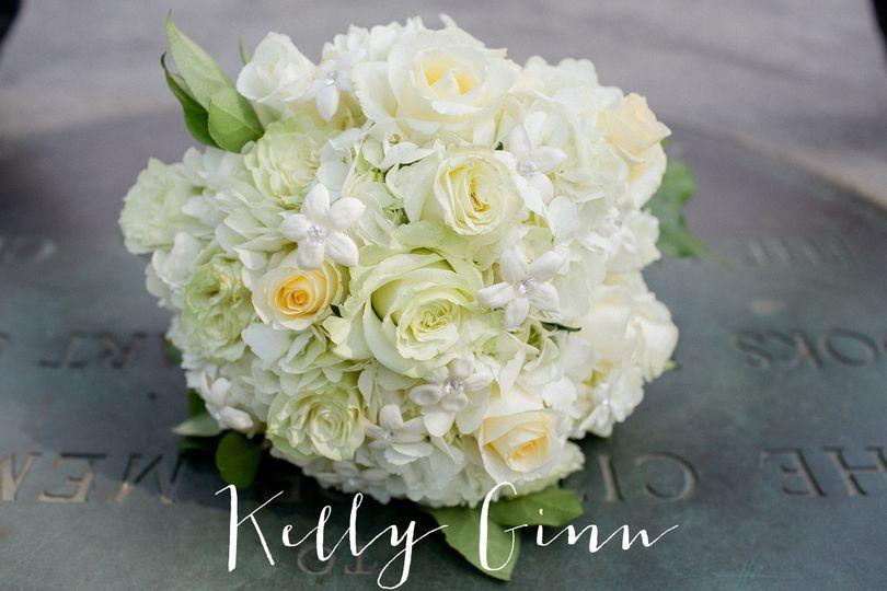 Final bridal bouquet
