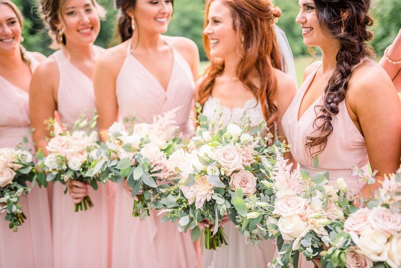 SSE Bridesmaids Bouquets