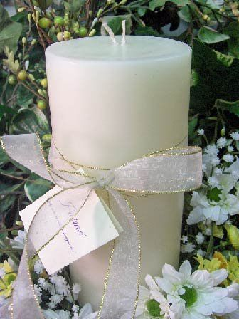 These  2 wick round pillar candle is stunning when used as decorations for special events. Each and...