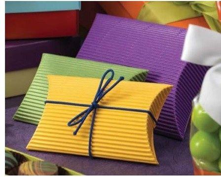 bw corrugated pillow boxe