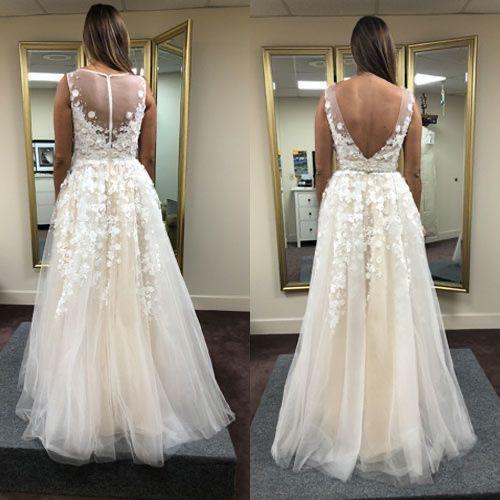 Tmx Britlyn Open Back 51 21498 159189980014526 San Diego, California wedding dress