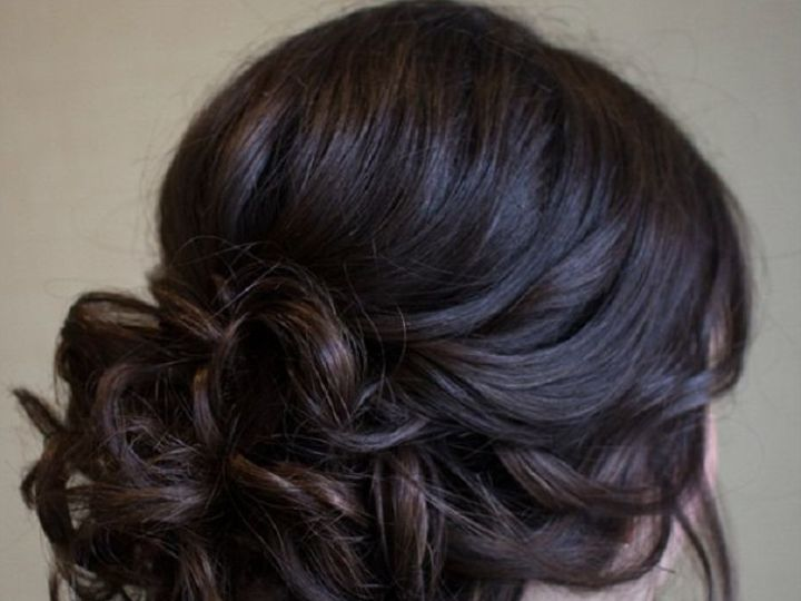 Tmx 1500237261994 Hair Updos Gorgeous Hairstyles Messy Buns Greenwich, CT wedding beauty