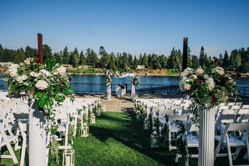 Ceremony at Rhoer Park