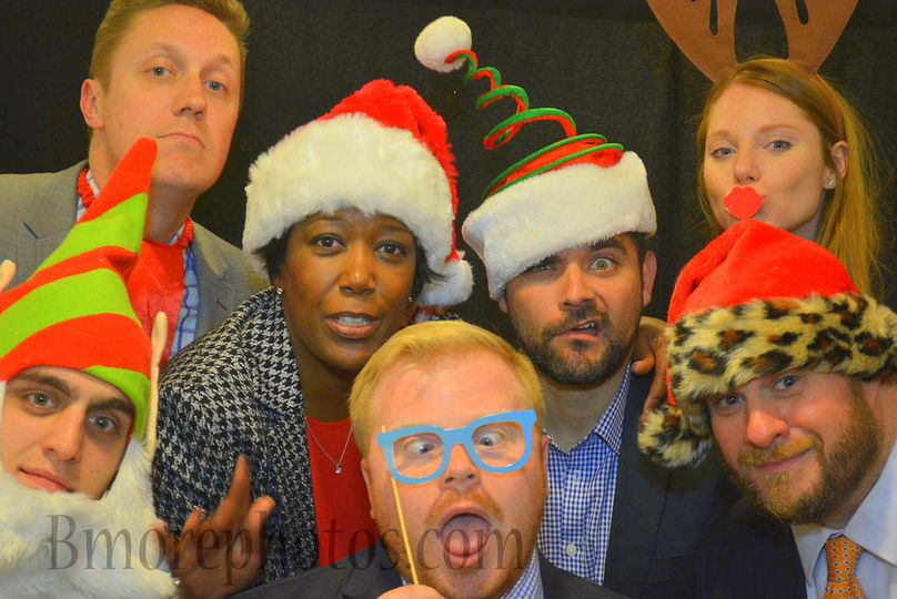 Christmas Party Photo Booth