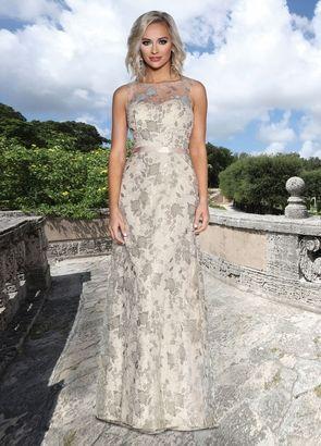 Frilly white dress