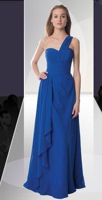 Ocean blue long dress
