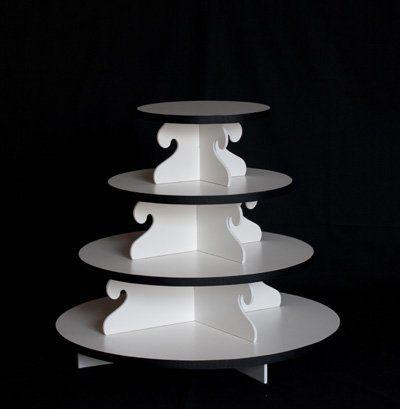 Tmx 1353098153930 Mediumroundcupcaketower Arvada wedding cake