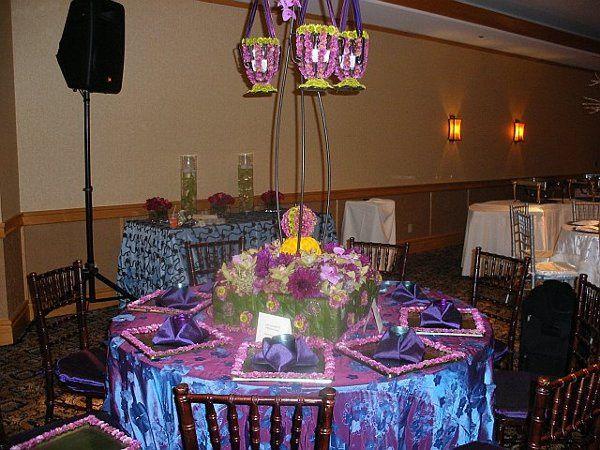 Fantasy Blue Table by Nicole Ha Florals