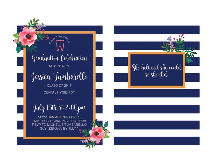 Tmx 1526006220 9b3c0137ab3049c0 1526006217 7a0cfc3838e1eaa2 1526006210506 7 FlowersandStripes Rancho Cucamonga, California wedding invitation