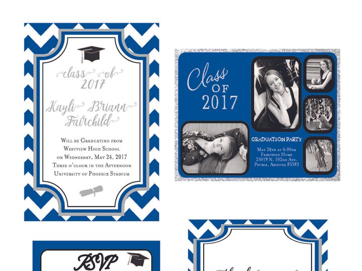 Tmx 1526006220 A8c04a6fbecc895d 1526006216 70af378ce606e3e7 1526006210505 5 ChevronStripes Rancho Cucamonga, California wedding invitation