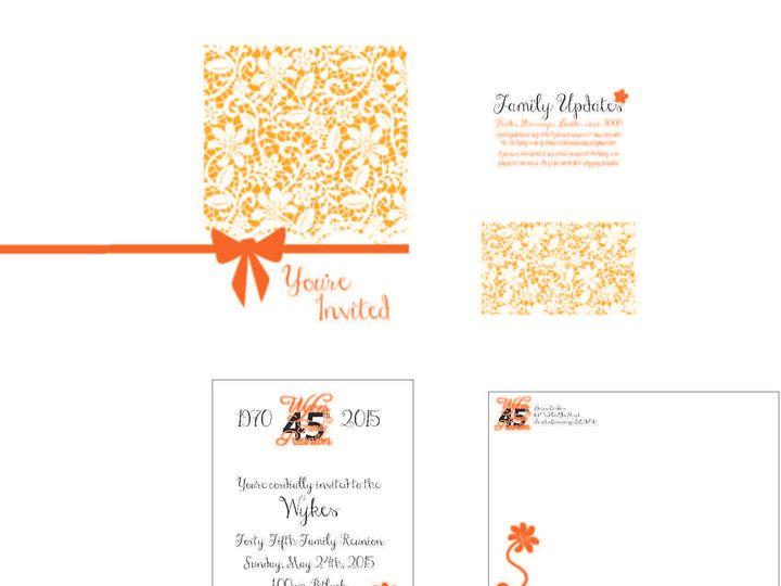 Tmx 1526006220 E7405f5cbeb3afc3 1526006217 5e5a5f8651c9e137 1526006210508 11 LaceFlower Rancho Cucamonga, California wedding invitation