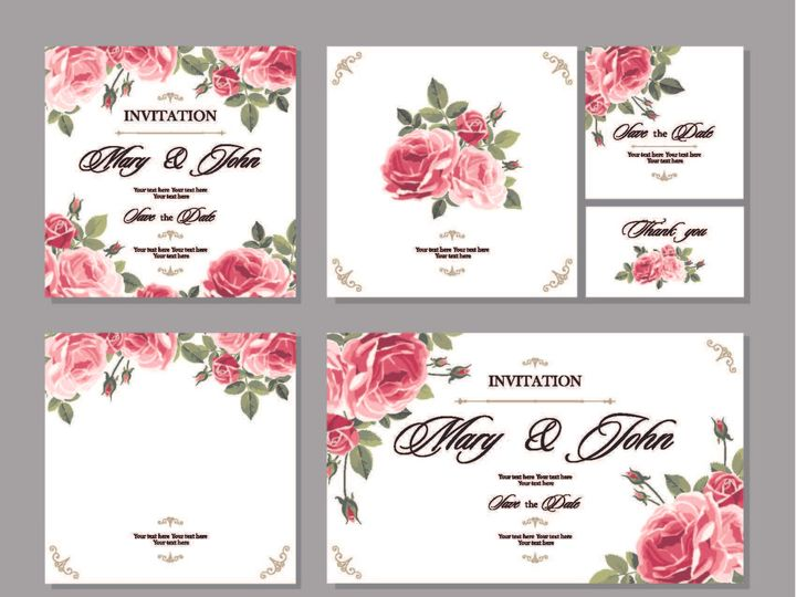 Tmx 1526006229 3b6c8c27bd82d4a2 1526006227 A3e532cafa3cc482 1526006210512 15 RedandPinkRose Rancho Cucamonga, California wedding invitation