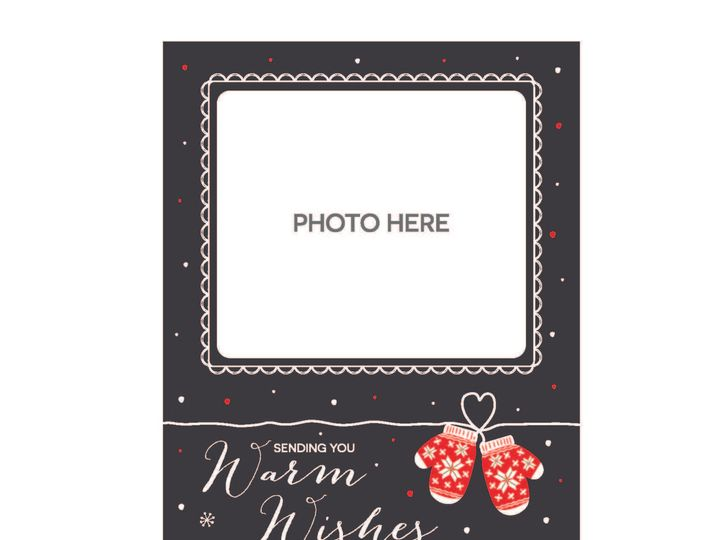 Tmx 1526006230 98a690f902572aca 1526006228 8ca09f0473fa2d84 1526006210515 20 WarmWishesChristm Rancho Cucamonga, California wedding invitation
