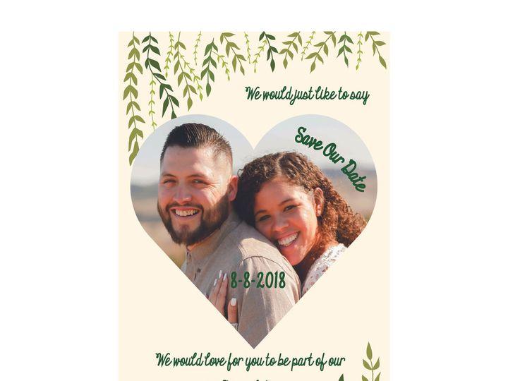 Tmx 1526006232 3bc6fc90b42fb6e9 1526006227 F464274da0162242 1526006210514 18 VineLeaf Rancho Cucamonga, California wedding invitation