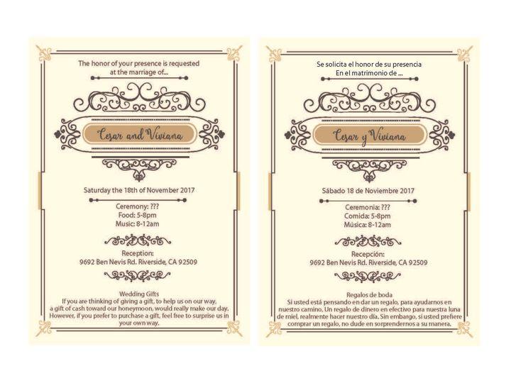 Tmx 1530851241 853c6ac3320b440f 1530851240 8381254319b81e4f 1530851236832 2 RetroLinesBorder Rancho Cucamonga, California wedding invitation