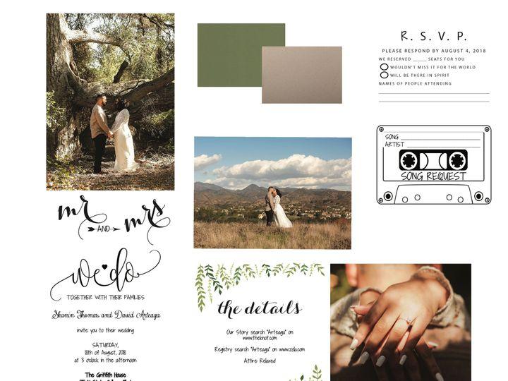Tmx 1530851578 A8d260e118843115 1530851576 83669ce16786d3ce 1530851555882 15 VinesandLeaves Rancho Cucamonga, California wedding invitation
