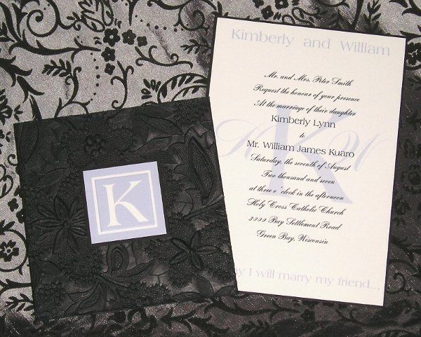 Tmx 1218199504312 Invitationopenenlarged Columbia wedding invitation