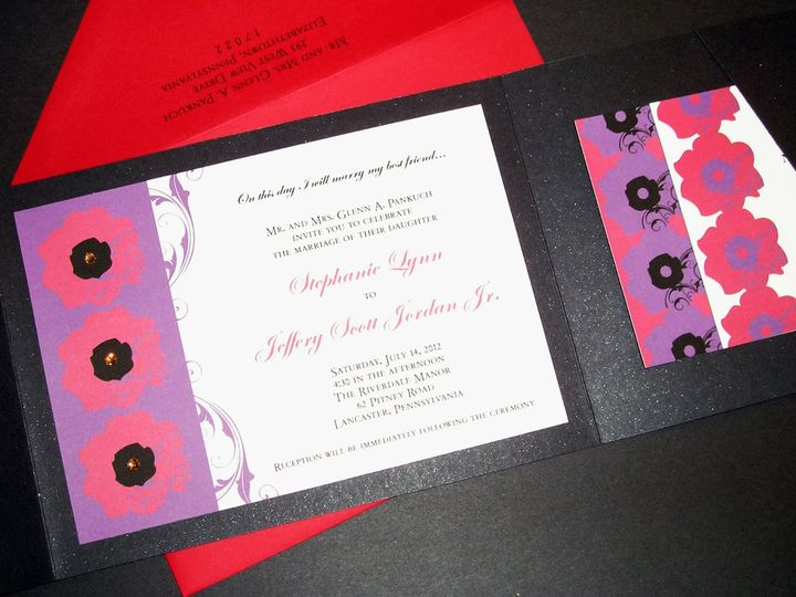 Tmx 1355178440445 172 Columbia wedding invitation