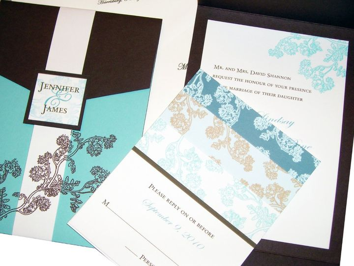 Tmx 1355178457620 2 Columbia wedding invitation