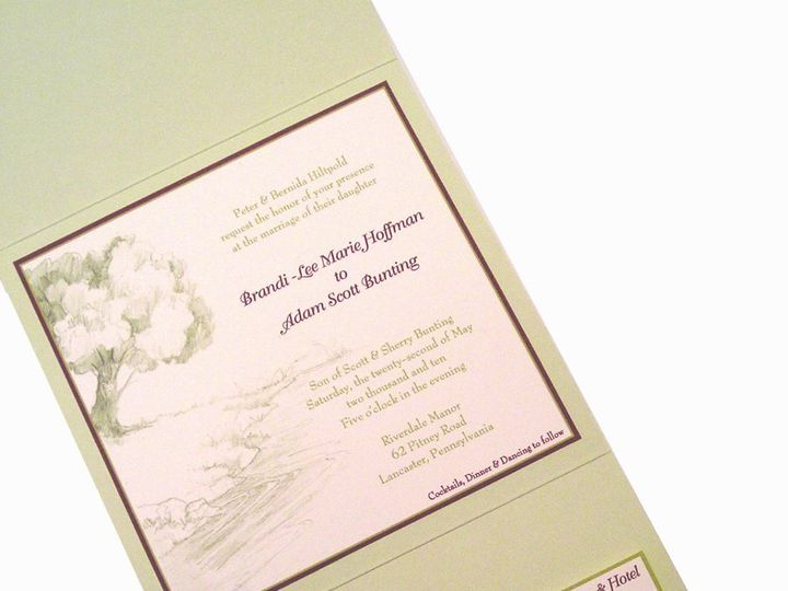 Tmx 1355178489869 31 Columbia wedding invitation